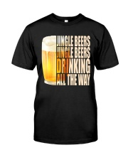 CRAFT BEER LOVER - JINGLE BEER Classic T-Shirt front