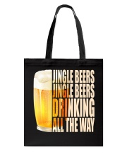 CRAFT BEER LOVER - JINGLE BEER Tote Bag thumbnail