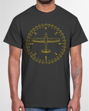 PILOT AVIATION - COMPASS  Classic T-Shirt garment-tshirt-unisex-front-03