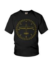 PILOT AVIATION - COMPASS  Youth T-Shirt thumbnail