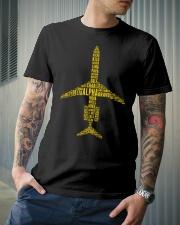 PILOT GIFT - AIRCRAFT ALPHABET Classic T-Shirt lifestyle-mens-crewneck-front-6