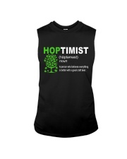 CRAFT BEER AND BREWING HOPTIMIST DEFINITION Sleeveless Tee thumbnail