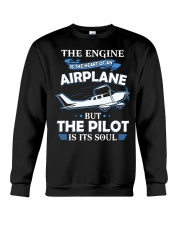 PILOT GIFT - THE PILOT IS ITS SOUL Crewneck Sweatshirt thumbnail
