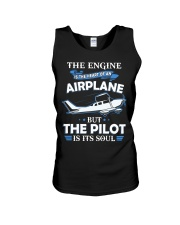 PILOT GIFT - THE PILOT IS ITS SOUL Unisex Tank thumbnail