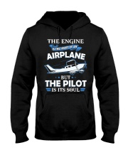 PILOT GIFT - THE PILOT IS ITS SOUL Hooded Sweatshirt thumbnail