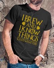 BREW Classic T-Shirt lifestyle-mens-crewneck-front-4