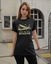 PILOT GIFTS  - TRUST ME I AM A PILOT Classic T-Shirt apparel-classic-tshirt-lifestyle-19