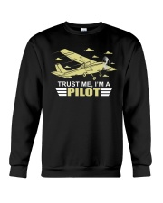 PILOT GIFTS  - TRUST ME I AM A PILOT Crewneck Sweatshirt thumbnail
