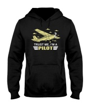 PILOT GIFTS  - TRUST ME I AM A PILOT Hooded Sweatshirt thumbnail