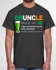 ST PATRICK'S DAY - DRUNCLE DEFINITION Classic T-Shirt garment-tshirt-unisex-front-03