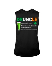 ST PATRICK'S DAY - DRUNCLE DEFINITION Sleeveless Tee thumbnail