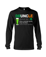 ST PATRICK'S DAY - DRUNCLE DEFINITION Long Sleeve Tee thumbnail