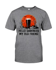 HALLOWEEN BREWERY BEER - HELLO DARKNESS Classic T-Shirt front