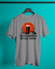 HALLOWEEN BREWERY BEER - HELLO DARKNESS Classic T-Shirt lifestyle-mens-crewneck-front-3