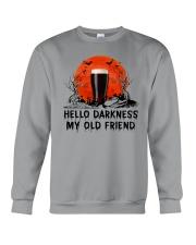 HALLOWEEN BREWERY BEER - HELLO DARKNESS Crewneck Sweatshirt thumbnail