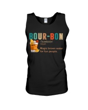 TRULY DRINK BOUR-BON DEFINITION Unisex Tank tile
