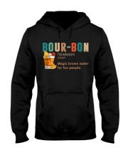 TRULY DRINK BOUR-BON DEFINITION Hooded Sweatshirt tile