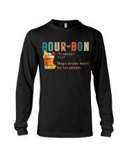 TRULY DRINK BOUR-BON DEFINITION Long Sleeve Tee tile