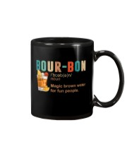TRULY DRINK BOUR-BON DEFINITION Mug tile