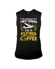 PILOT GIFTS - FLYING AND COFFEE Sleeveless Tee tile