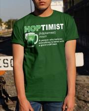 ST PATRICK'S DAY - HOPTIMIST DEFINITION Classic T-Shirt apparel-classic-tshirt-lifestyle-29