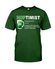 ST PATRICK'S DAY - HOPTIMIST DEFINITION Classic T-Shirt front
