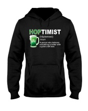 ST PATRICK'S DAY - HOPTIMIST DEFINITION Hooded Sweatshirt thumbnail