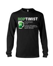 ST PATRICK'S DAY - HOPTIMIST DEFINITION Long Sleeve Tee thumbnail