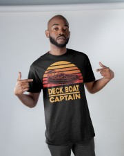 DECK BOAT GIFT - DECK BOAT CAPTAIN Classic T-Shirt apparel-classic-tshirt-lifestyle-front-32