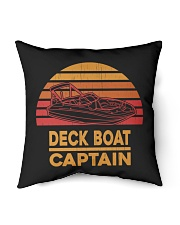 "DECK BOAT GIFT - DECK BOAT CAPTAIN Indoor Pillow - 16"" x 16"" thumbnail"