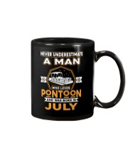 PONTOON BOAT GIFT - JULY PONTOON MAN Mug thumbnail