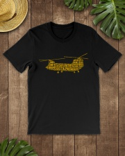 AIRPLANE GIFTS  - CH47 CHINOOK MILITARY HELICOPTER Classic T-Shirt lifestyle-mens-crewneck-front-18