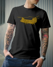 AIRPLANE GIFTS  - CH47 CHINOOK MILITARY HELICOPTER Classic T-Shirt lifestyle-mens-crewneck-front-6