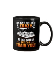 PONTOON BOAT GIFT - CRAZY Mug thumbnail