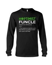 CRAFT BEER AND BREWING HOPTIMIST FUNCLE Long Sleeve Tee thumbnail