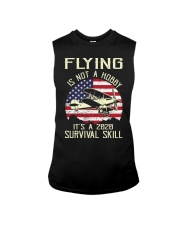 PILOT FLYING IS NOT A HOBBY IT'S A SURVIVAL SKILL Sleeveless Tee thumbnail