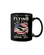 PILOT FLYING IS NOT A HOBBY IT'S A SURVIVAL SKILL Mug thumbnail