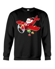 MERRY PILOT CHRISTMAS - SANTA IS COMING Crewneck Sweatshirt thumbnail