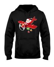 MERRY PILOT CHRISTMAS - SANTA IS COMING Hooded Sweatshirt thumbnail
