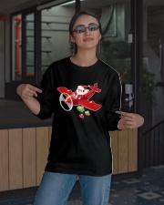 MERRY PILOT CHRISTMAS - SANTA IS COMING Long Sleeve Tee apparel-long-sleeve-tee-lifestyle-08