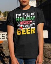 B - HOLIDAY SPIRIT Classic T-Shirt apparel-classic-tshirt-lifestyle-29