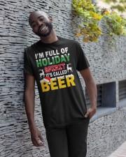 B - HOLIDAY SPIRIT Classic T-Shirt apparel-classic-tshirt-lifestyle-front-33