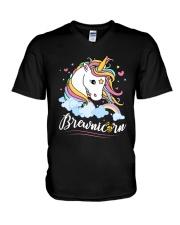 CRAFT BEER BREWERY BREWNICORN  V-Neck T-Shirt thumbnail