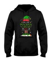 PONTOON BOAT GIFT - PONTOON CAPTAIN ELF Hooded Sweatshirt thumbnail