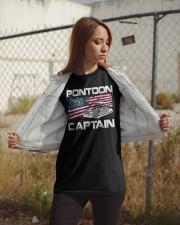 PONTOON LOVER - PONTOON CAPTAIN Classic T-Shirt apparel-classic-tshirt-lifestyle-07