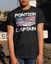 PONTOON LOVER - PONTOON CAPTAIN Classic T-Shirt apparel-classic-tshirt-lifestyle-29