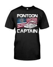 PONTOON LOVER - PONTOON CAPTAIN Classic T-Shirt front