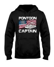 PONTOON LOVER - PONTOON CAPTAIN Hooded Sweatshirt thumbnail