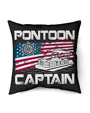 """PONTOON LOVER - PONTOON CAPTAIN Indoor Pillow - 16"""" x 16"""" thumbnail"""