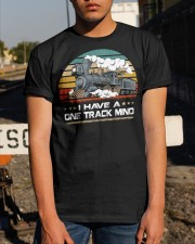 Train Lovers Gifts - I Have One Track Mind Classic T-Shirt apparel-classic-tshirt-lifestyle-29